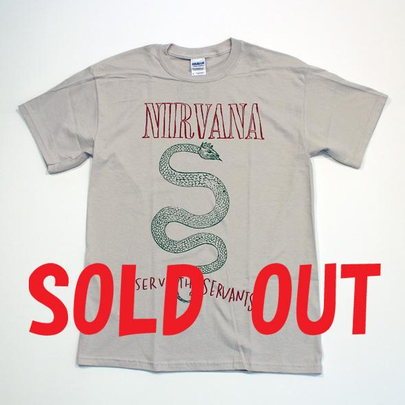 ロックTシャツ/NIRVANA(SERPENT)/ニルヴァーナ(サーペント)RCT121117