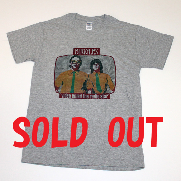 THE BUGGLES T-SHIRTS(バグルスTシャツ)