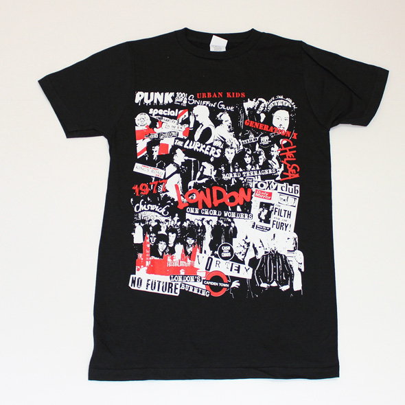 """London 1977 Punk """"Collage"""" (ロンドン1977)"""