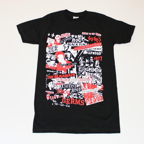 """Los Angeles 1977 Punk """"Collage""""(ロスアンジェルス1977)"""