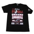 【DM便可】ベルサイユのトラック姐ちゃん(ロゴ)Tシャツ(ブラック)