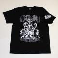 【DM便可】仮面ライダー「7人ライダー」Tシャツ(ブラック)