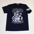 【DM便可】仮面ライダー「7人ライダー」Tシャツ(ネイビー)