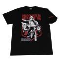 仮面ライダー「二号ライダー」Tシャツ(ブラック)