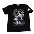 【DM便可】仮面ライダーV3「ライダーマン」Tシャツ(ブラック)