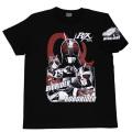 【DM便可】 仮面ライダーBLACK RX「ロボ、バイオ」Tシャツ(ブラック)