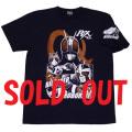 【DM便可】仮面ライダーBLACK RX「ロボ、バイオ」Tシャツ(ネイビー)