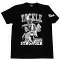 【DM便可】仮面ライダーストロンガ—「タックル」Tシャツ(ブラック)