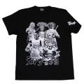 仮面ライダーストロンガ—「デルザー軍団」Tシャツ(ブラック)