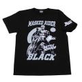 【DM便可】 仮面ライダーBLACK「バトルホッパー」Tシャツ(ブラック)