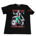 【DM便可】仮面ライダーV3(ハリケーン)Tシャツ(ブラック)