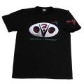 【DM便可】仮面ライダーV3(ダブルタイフーン)Tシャツ(ブラック)