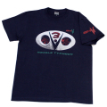 【DM便可】仮面ライダーV3(ダブルタイフーン)Tシャツ(ネイビー)