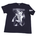 【DM便可】仮面ライダーストロンガ—「スパーク」Tシャツ(ネイビー)
