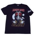仮面ライダーBLACK「フェイス」Tシャツ(ネイビー)