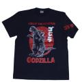 ゴジラ「初代ゴジラ」Tシャツ(ネイビー)