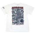 SUSHI TYPHOON GAMES「刺青の国」Tシャツ(ホワイト)