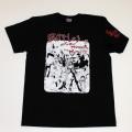 「仁義なき戦い」1stイラストS/STシャツ(ブラック)