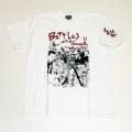 【DM便可】 「仁義なき戦い」1stイラストS/STシャツ(ホワイト)