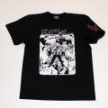 【DM便可】 「仁義なき戦い」代理戦争イラストS/STシャツ(ブラック)
