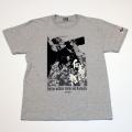 【DM便可】「仁義なき戦い」s/sTシャツ(ポスターGRAY)