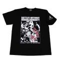 「仁義なき戦い」半袖Tシャツ(広島死闘篇)ブラック