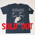 【DM便可】「まむしの兄弟」ロゴS/S Tシャツ(ブルーグレー)