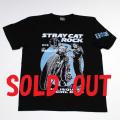 野良猫ロック(AKOバイク)S/STシャツ(ブラック)