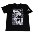 昭和残侠伝(唐獅子牡丹)S/S Tシャツ(ブラック)