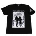 【DM便可】昭和残侠伝「シリーズ」s/sTシャツ(ブラック)