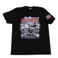 【DM便可】トラック野郎(一番星)S/S Tシャツ(ブラック)