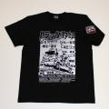 【DM便可】トラック野郎(シリーズ)S/S Tシャツ(ブラック)