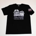 【DM便可】トラック野郎(男一匹)S/S Tシャツ(ブラック)