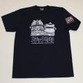 【DM便可】トラック野郎(男一匹)S/S Tシャツ(ネイビー)