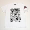 【DM便可】トラック野郎(イラスト)S/S Tシャツ(ホワイト)