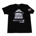 【DM便可】トラック野郎(故郷一番星)S/STシャツ(ブラック)