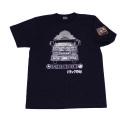 【DM便可】トラック野郎(故郷一番星)S/STシャツ(ネイビー)