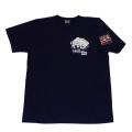 トラック野郎(色々一番星)S/STシャツ(ネイビー)
