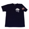 【DM便可】トラック野郎(色々一番星)S/STシャツ(ネイビー)