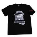 【DM便可】トラック野郎(度胸一番星)S/STシャツ(ブラック)