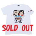 トラック野郎(カラーイラスト)Tシャツ(ホワイト)