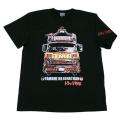 トラック野郎(突撃ジョナサン号)Tシャツ(ブラック)