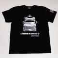 【DM便可】トラック野郎(ジョナサン号)S/S Tシャツ(ブラック)