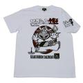 ハクション大魔王「よばれてとびでて」Tシャツ(ホワイト)