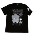 カバトット「なかよし」Tシャツ(ブラック)