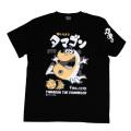 かいけつタマゴン「なんでも解決」Tシャツ(ブラック)