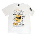かいけつタマゴン「なんでも解決」Tシャツ(ホワイト)