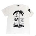 ヤッターマン「おだてぶた」Tシャツ(ホワイト)