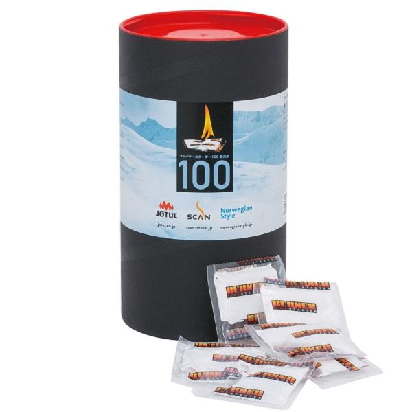 ファイヤースターター 着火剤 バレル(100個入)