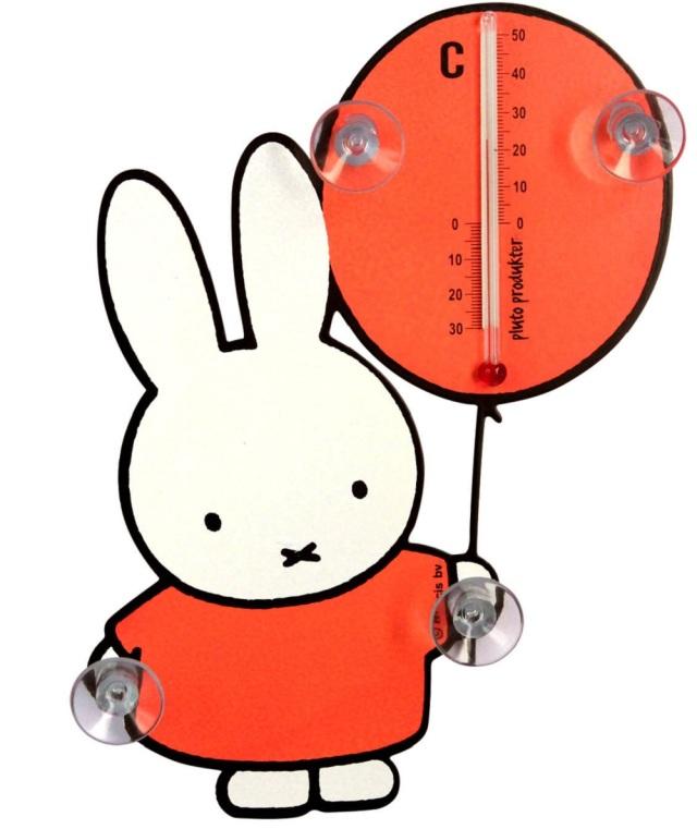 温度計ミッフィー